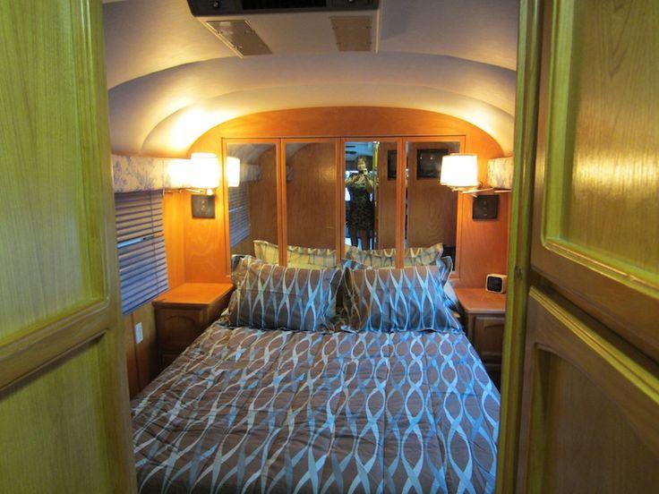 Bedroom Vintage Bus