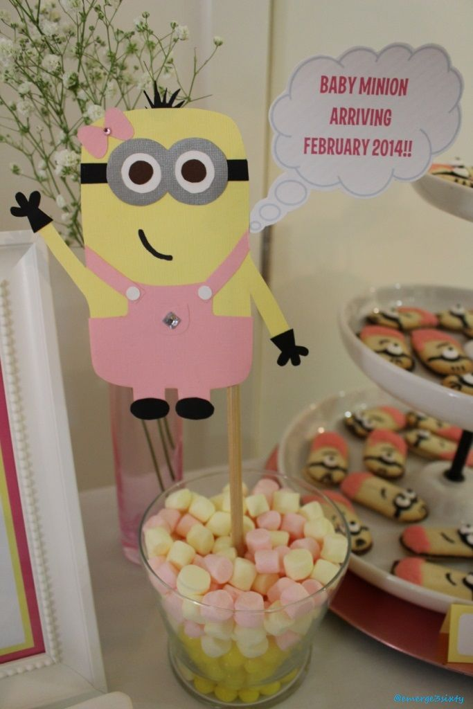 pin by emerge3sixty on minion baby shower pinterest