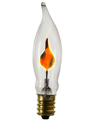 flicker bulb 3 watt 2 3 4 candelabra base flickering flame light. Black Bedroom Furniture Sets. Home Design Ideas