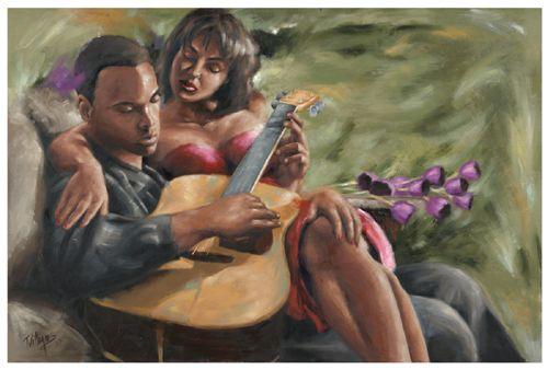 Black Love Art  Black Religious Art  James Loveless