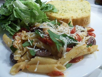 Tomato and Olive Penne | Favorite Foods | Pinterest