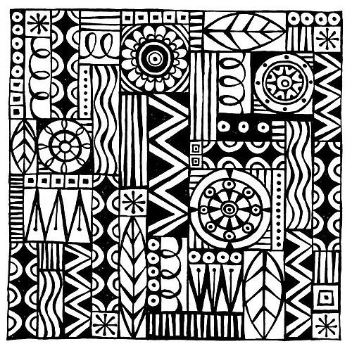 Pin by Charlaine Morabito on Zentangle Patterns | Pinterest