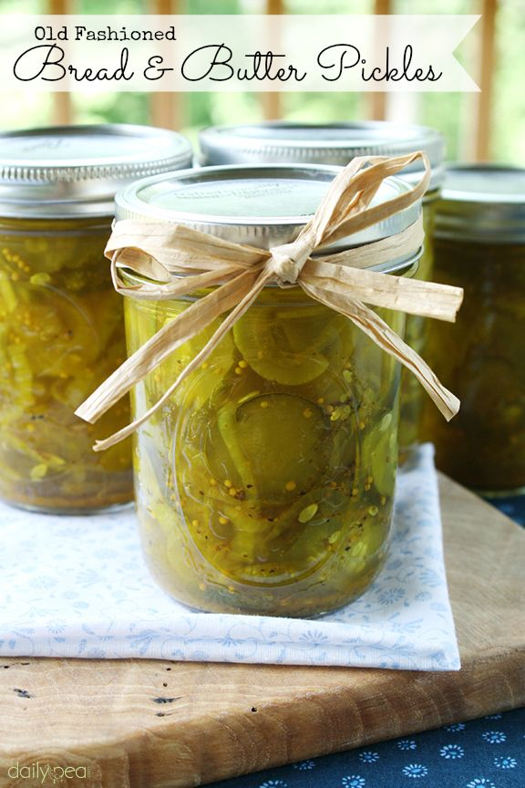 Old Fashioned Bread and Butter Pickles | Recipe
