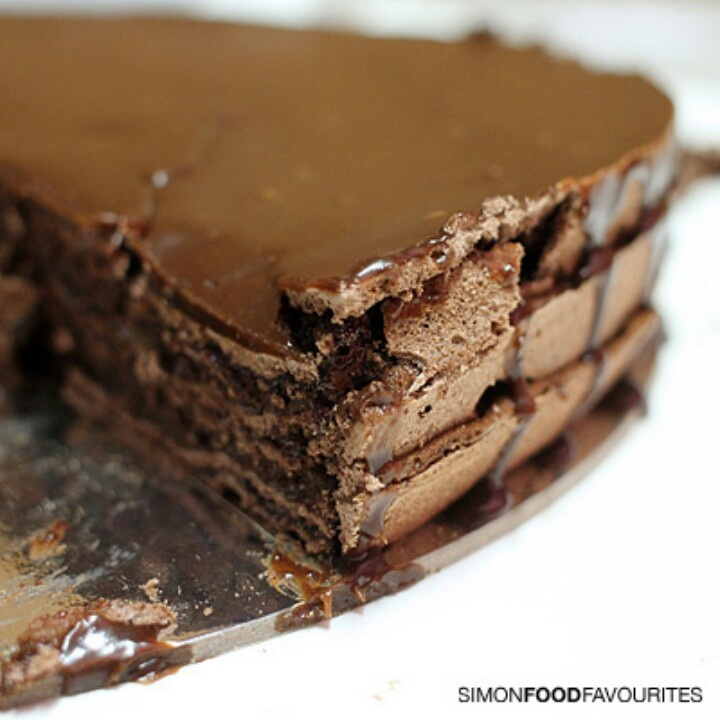 Airy Chocolate Mousse Recipe — Dishmaps