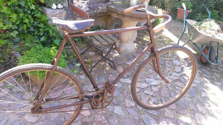 Fahrrad Dürkopp Halbrenner 1928 RH 60 cm Oldtimer | Bicicletas ...