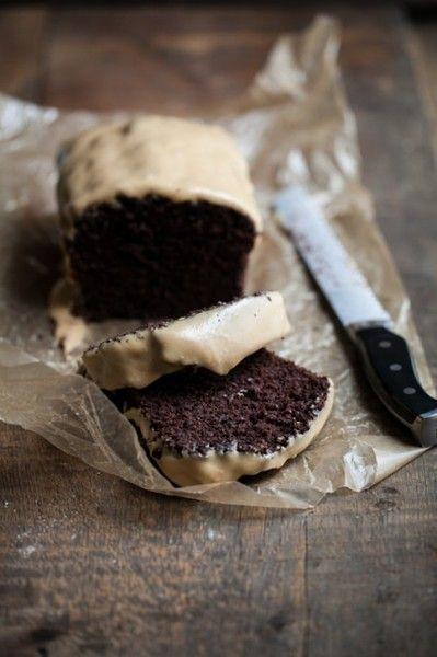 Chocolate Cake with Peanut Butter Glaze | Nosh | Pinterest