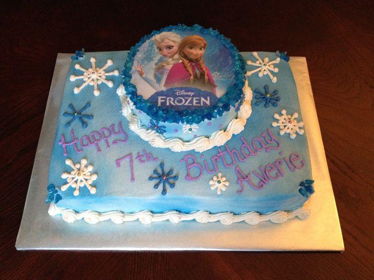 Anna And Elsa Birthday Cakes Party Invitations Ideas