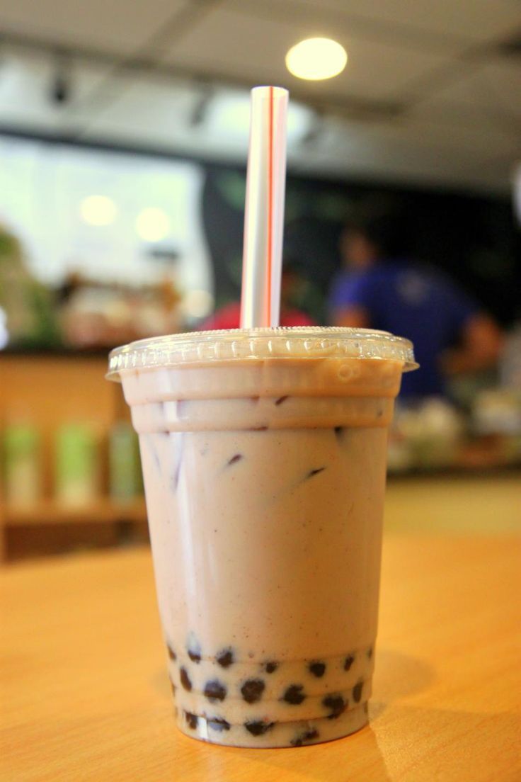 chai bubble tea. Everyone needs to try it sometime.