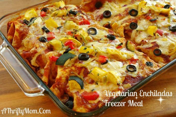 Vegetarian enchiladas | FOOD TO LOVE | Pinterest