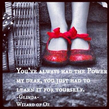 ruby red slippers favorite quotes pinterest