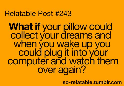 that would be so cool!