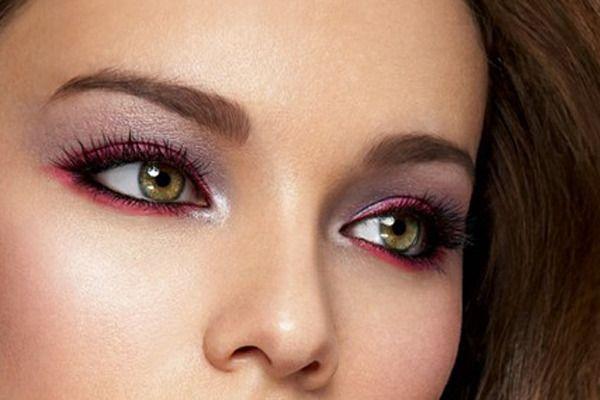 Burgundy eyes