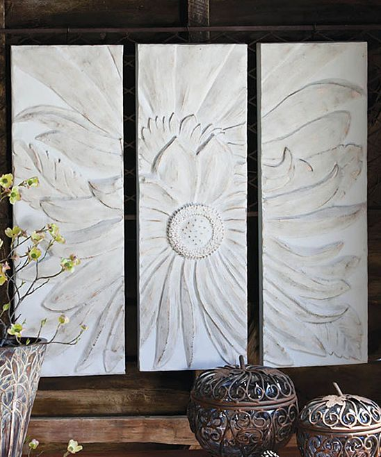 Metal Wall Art For Dining Room : Metal flower wall decor decoration living dining room