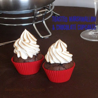 Toasted Marshmallow & Chocolate Cupcakes | Also known as sustenance ...