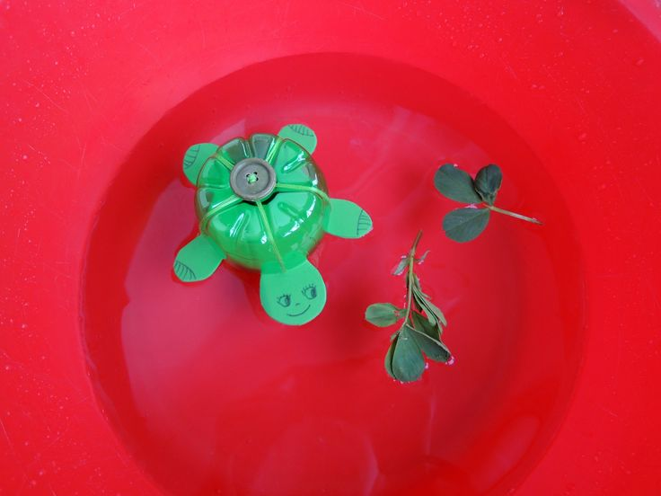 Recycled plastic bottle turtle | Crafts | Pinterest