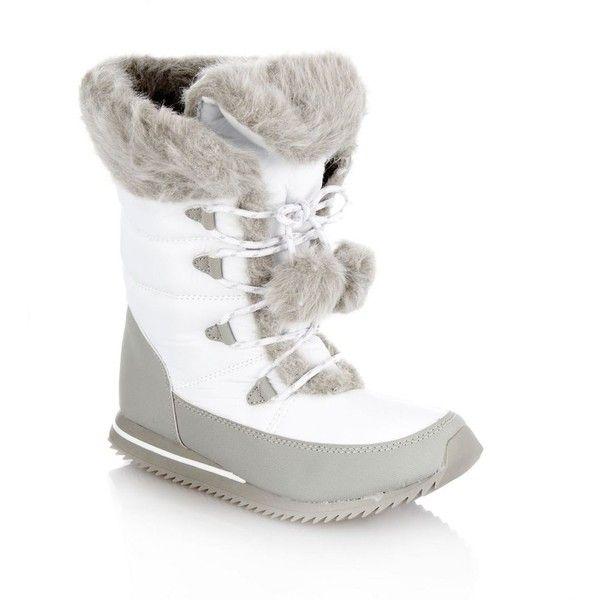 North Face Womens White Snow Boots | Homewood Mountain Ski Resort