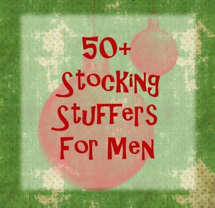 Stocking ideas for guys