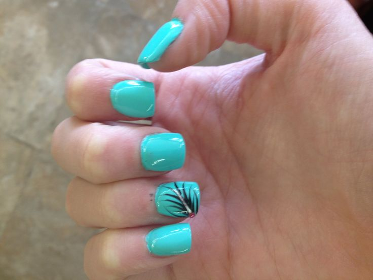 Mint Green Nail Polish Ideas Hession Hairdressing