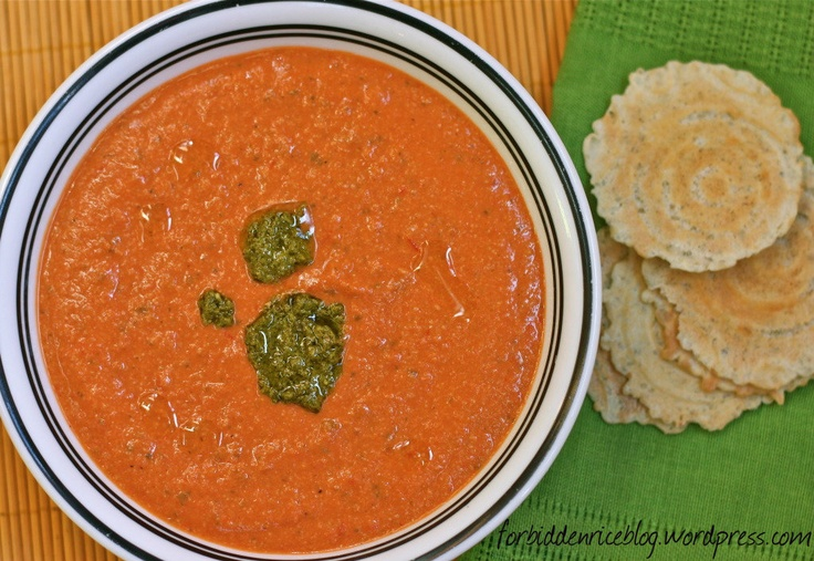 Cashew Tomato Soup Recipe — Dishmaps