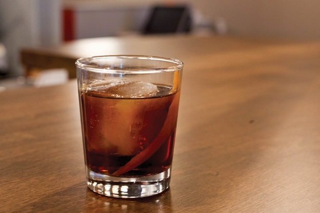 "Porzia's Rum ""Old Fashioned"" 
