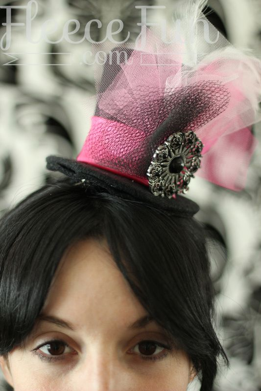 Mini Top Hat Template Mini Top Hats - Men & Woman Hat Designs Fashion ...