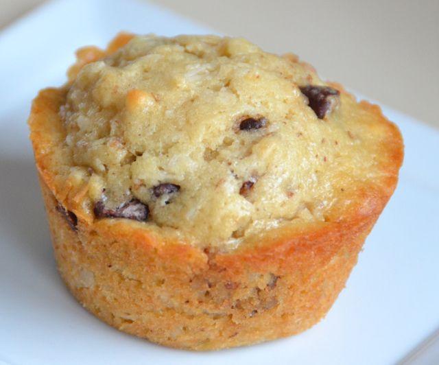 Coconut chocolate chip muffins | Breakfast | Pinterest