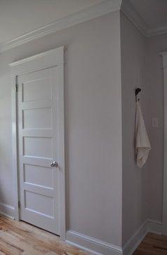 5 Panel White Interior Door Shaker Trim New Home Inspiration Pin