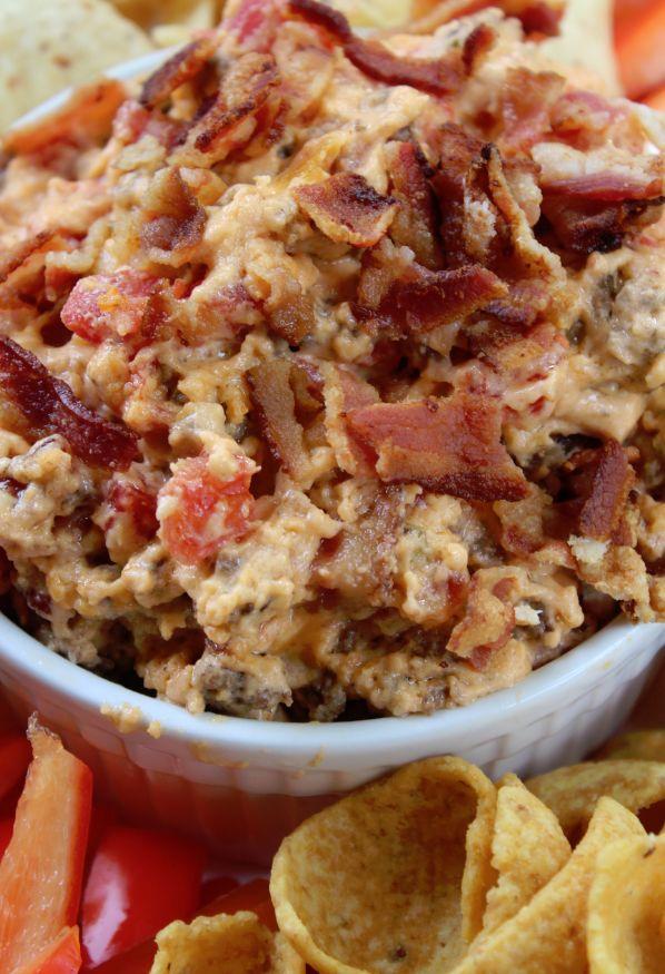 Crock Pot Bacon Cheeseburger Dip Recipe
