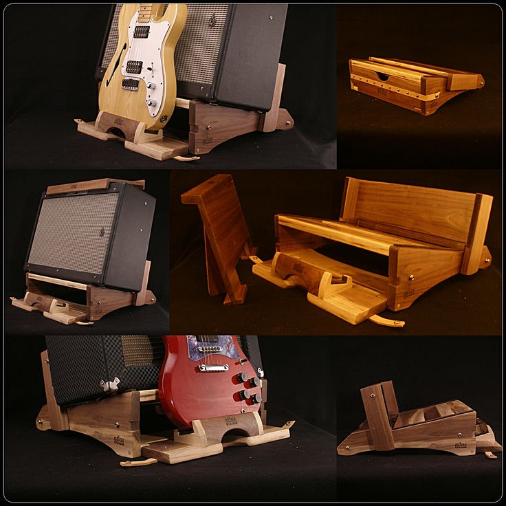 how to build a multi guitar stand