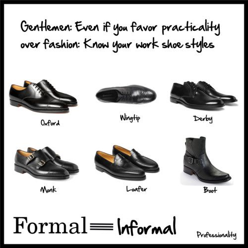 Men s shoes in the workplace I did a post the other day on women s