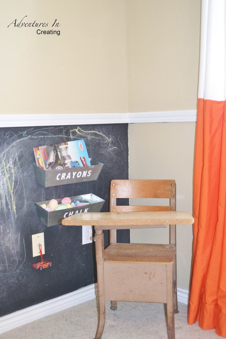 Chalkboard Wall In Kids Room Things For Baby Frick