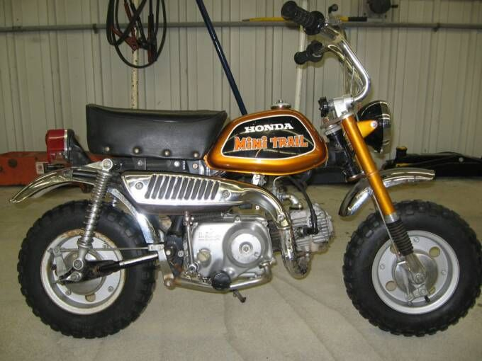 Honda Mini Trail 50 Honda Mini S Pinterest