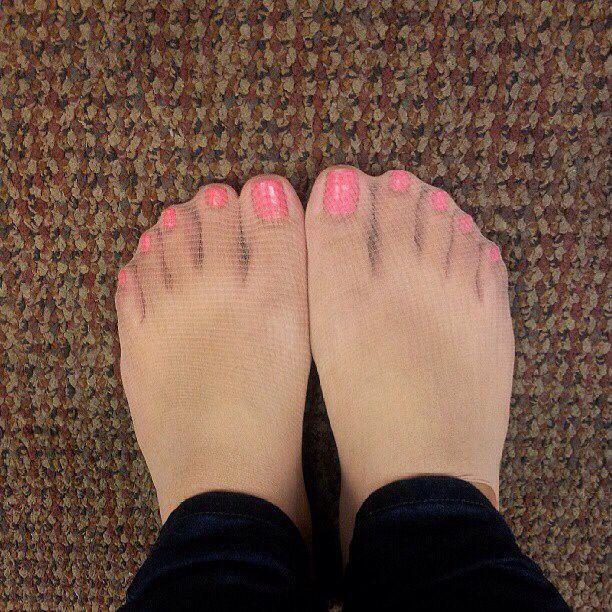 Tights fingers no tights and a pink rabbit diy at its bes 5