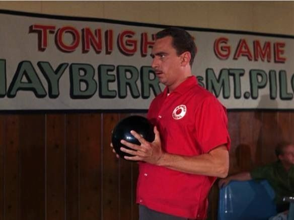 Howard Sprague bowls a perfect game | Andy Griffith | Pinterest