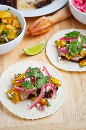 Coffee Rubbed Roasted Pork Belly Tacos | Food I Dig | Pinterest