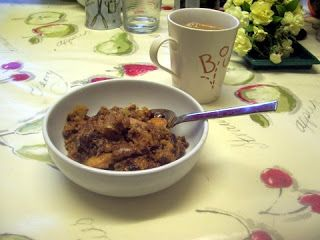 ... Cooked in Blighty: Slow cooker Overnight Porridge / Oatmeal recipe