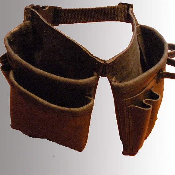 boy s leather tool belt to make