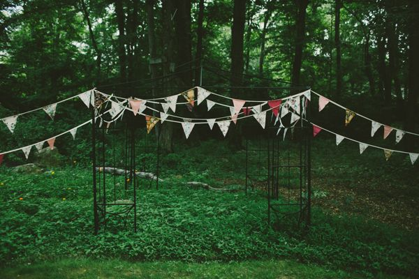 Backyard wedding ceremony decoration ideas