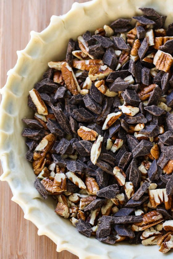 Chocolate Bourbon Pecan Pie | Diabetes on a plate | Pinterest