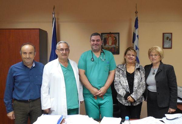 Ενίσχυση με επικουρικού αναισθησιολόγου του Νοσοκομείου Ημαθίας (Μονάδα Βέροιας)