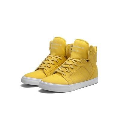 Men s Sneakers in Yellow/White