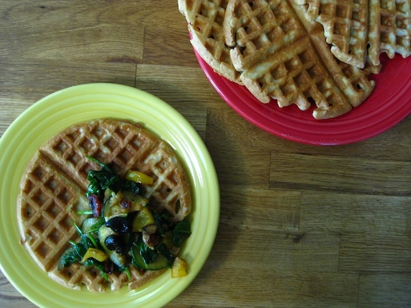 Savory Gluten Free Waffles | Recipe