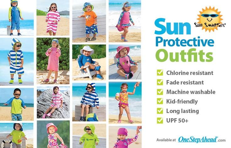 One step ahead sun smarties zip suit