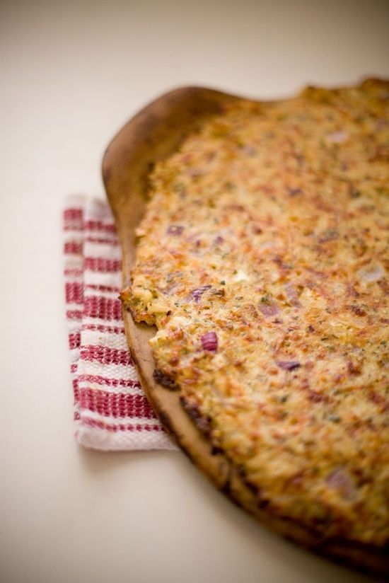 Cauliflower Pizza Crust | Food & Drink | Pinterest