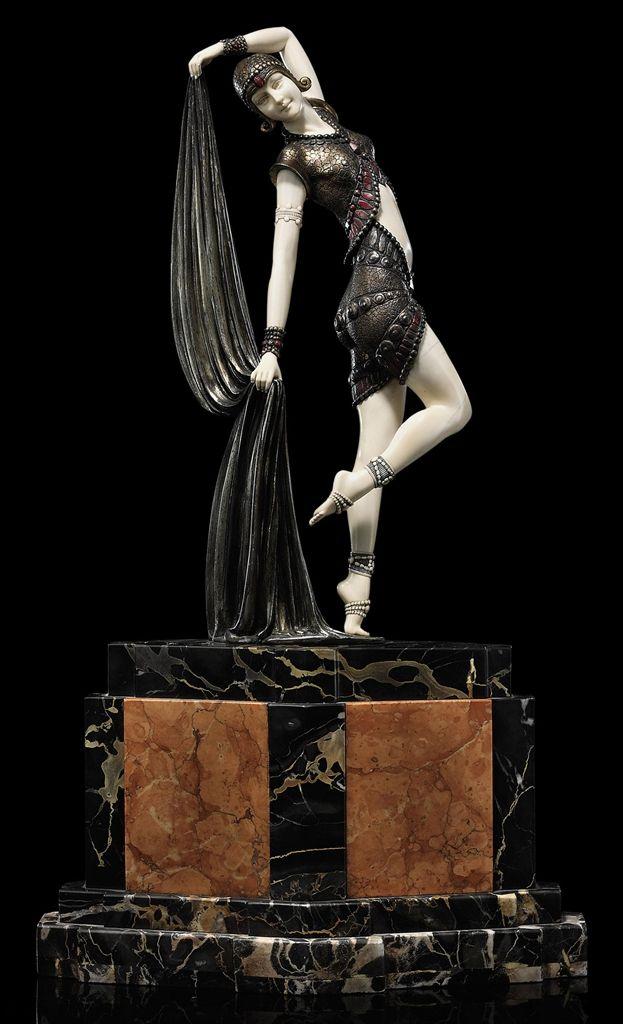 DEMETRE CHIPARUS (1886-1947) | YAMBO, CIRCA 1925