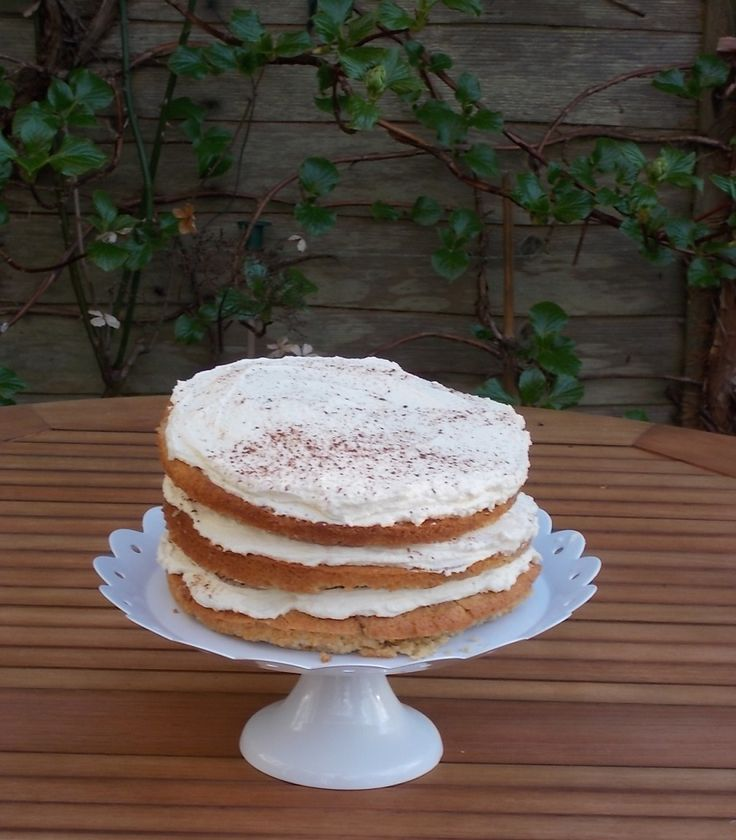 Tipsy Tiramisu Layer Cake   Recipes   Pinterest