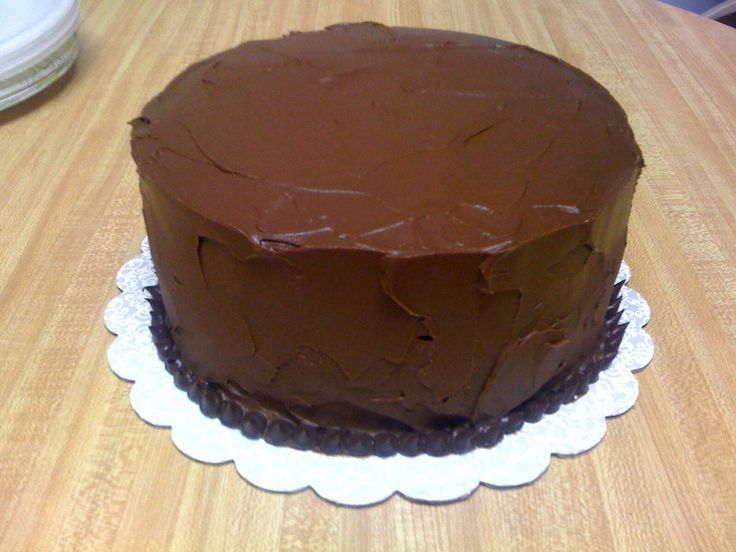 egg nest rich chocolate cake with ganache frosting and truffle egg ...