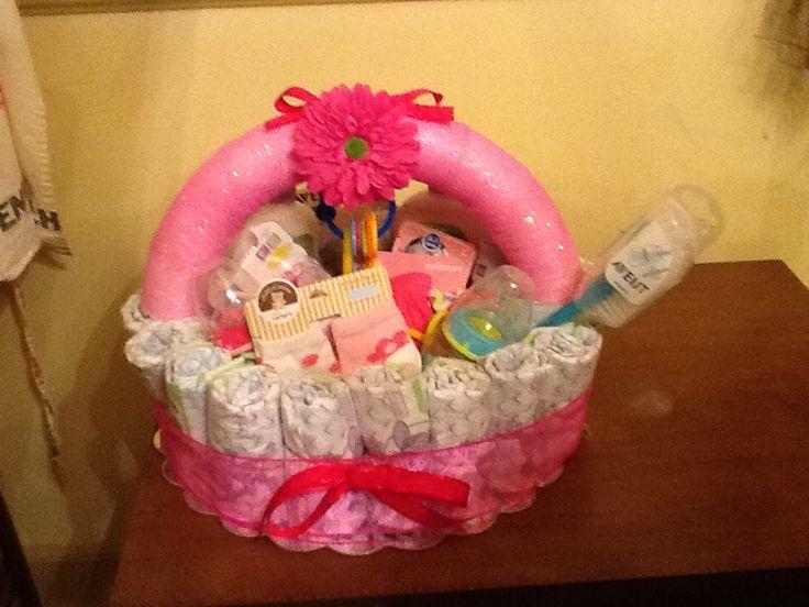baby shower gift basket baby shower ideas pinterest