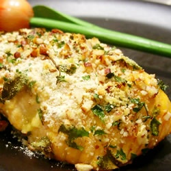 Salmon with Pecan Crunch Coating. This is my favorite way to make ...