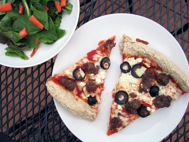 My favorite homemade white whole wheat pizza dough recipe - only 10 ...